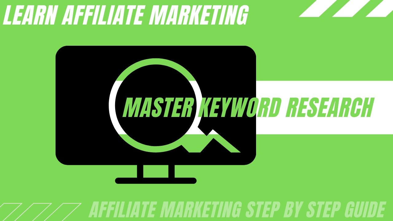 Master your keyword research to drive traffic