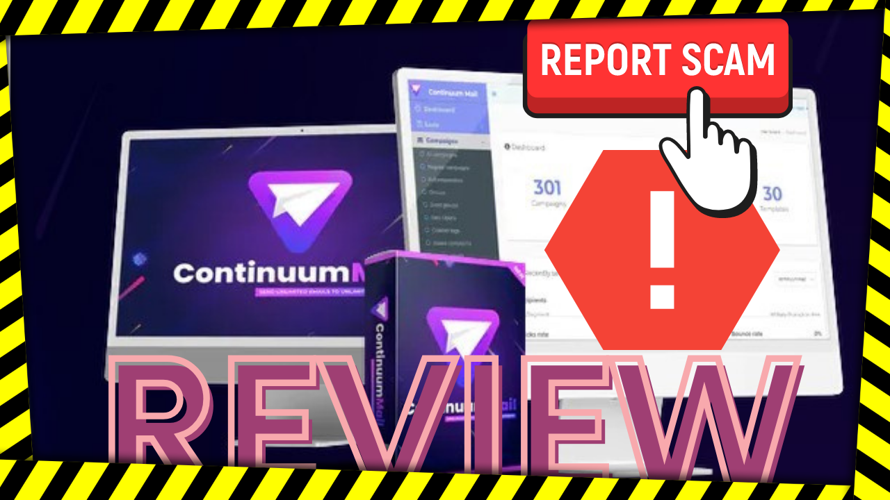 Continuum mail review – scam to avoid !