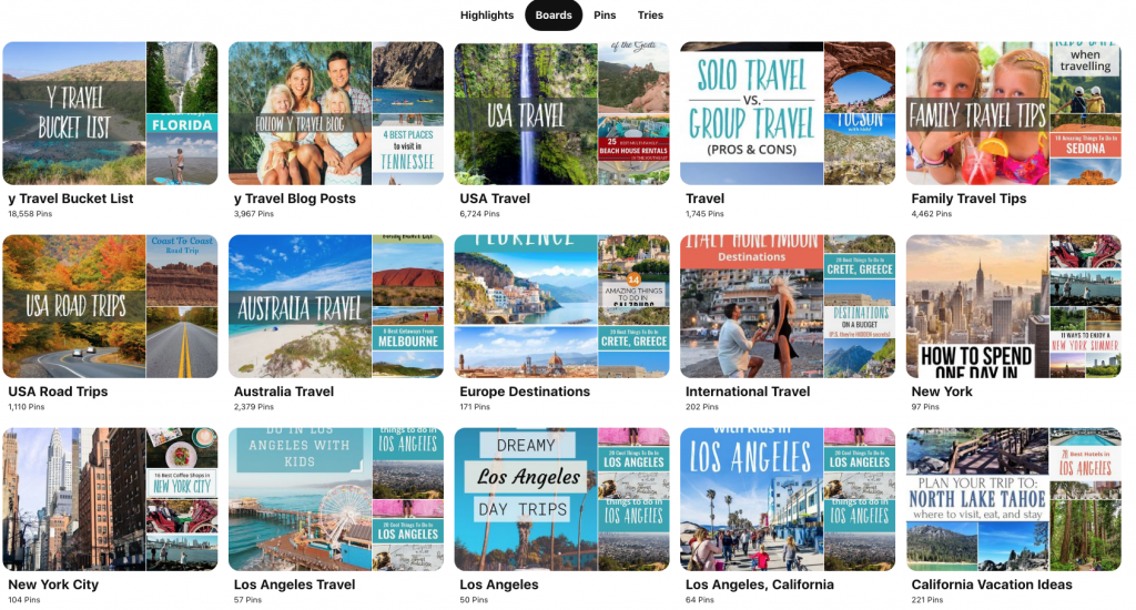 Pinterest Traffic to your Site